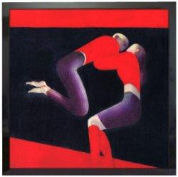 画像1: 部屋(赤と青)