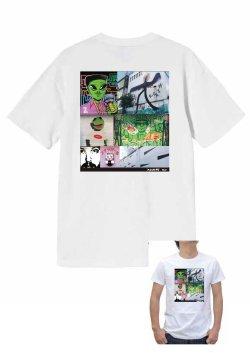 画像1: art on the wall-アメ村アートTシャツ